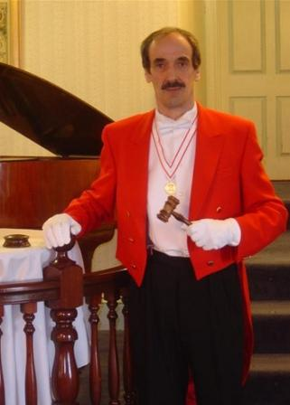 Toastmaster Edmond Wells is available for hire Suffolk
