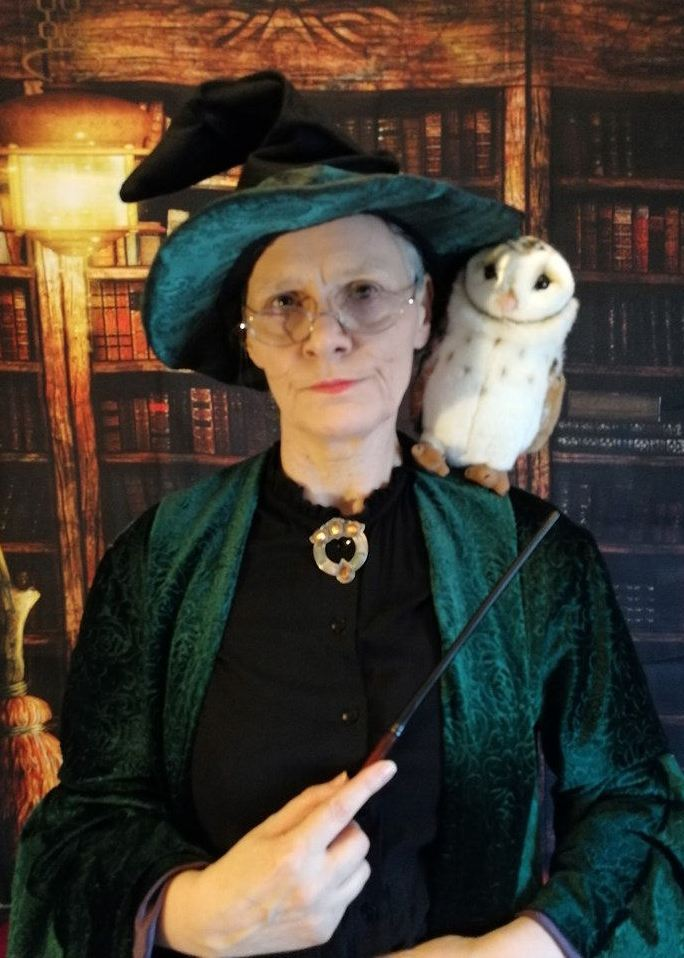 Elaine Mein as Professor McGonagall from Harry Potter N Yorks