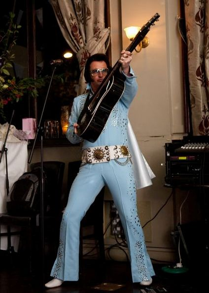 Elvin Priestley as Elvis Presley