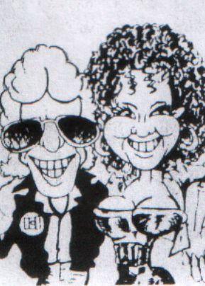 George Brooks Caricaturist from Cheshire