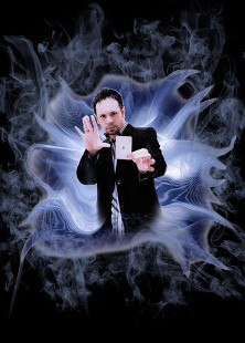 Magician Glenn Fielding from Worcestershire