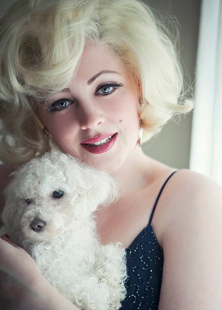 Marilyn Monroe lookalike & tribute Hannah Nixon