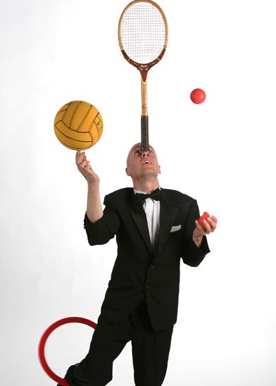 Ian Marchant the Gentleman Juggler from London