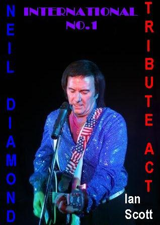 Ian Scott Neil Diamond Tribute Worcestershire