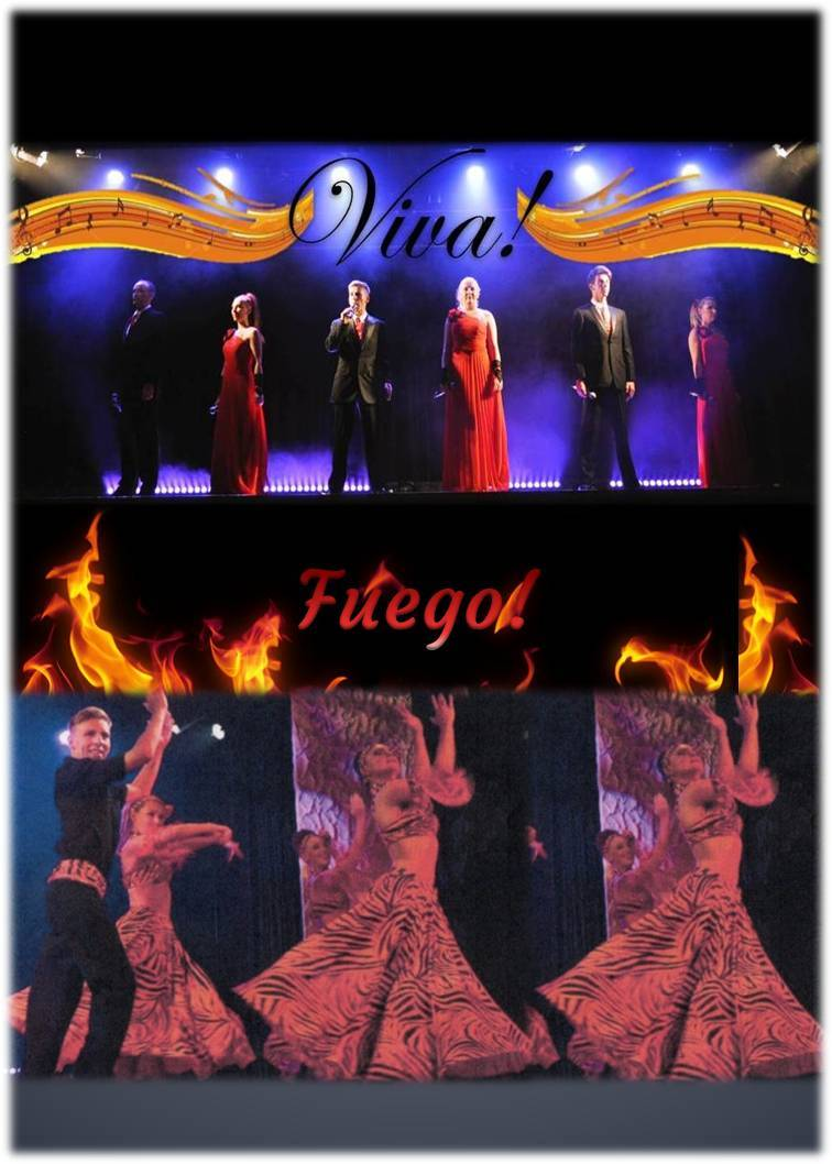 Viva las Vegas & Fuego! Stage Shows created by Inspire Productions