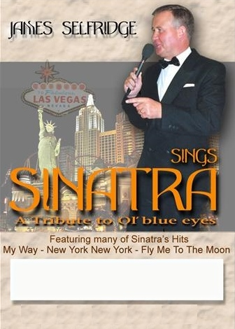 James Selfridge as Frank Sinatra Tribute