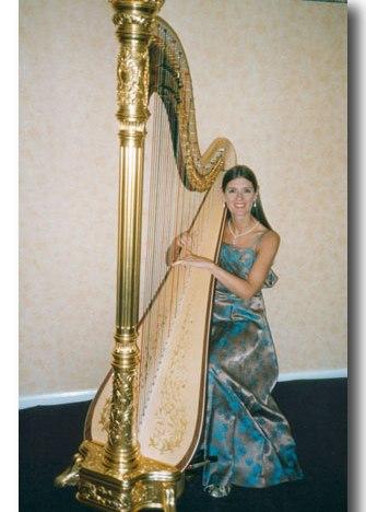 Janet Bennet Harpist Tyne & Wear