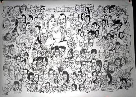 Jed Pascoe Caricaturist from Oxfordshire