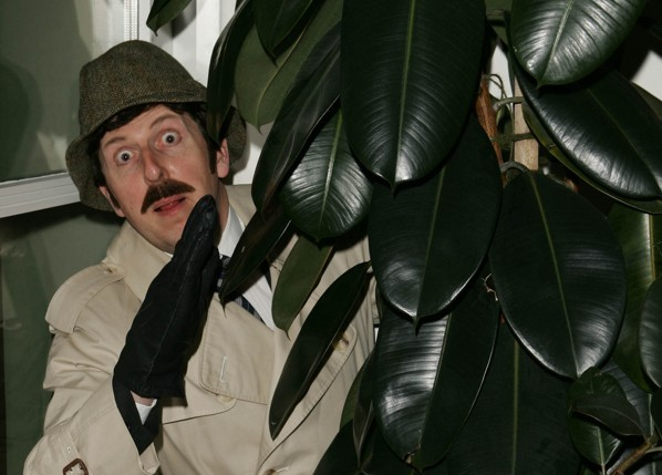 Jeff Bennett as Inspector Clouseau lookalike from Pink Panther