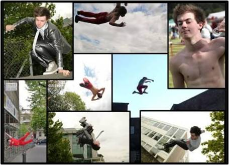 Acrobatic Performer, Stuntman, Jordan Wilcox