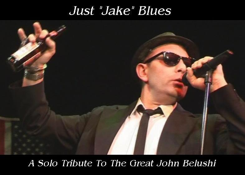 Dave Crathorne as Just Jake solo Blues Brother from West Midlands