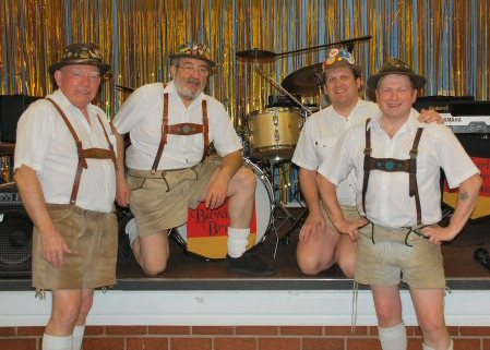 Karl's Bavarian Brass Oompah Band is based in the Midlands