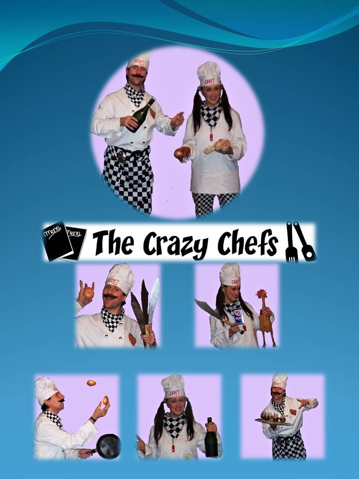 Crazy Chefs by the Kempthornes