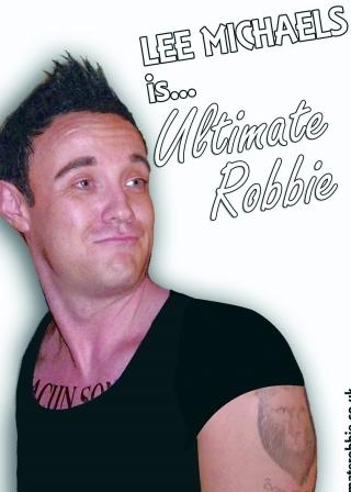 Lee Michaels Robbie Williams Tribute West Midlands