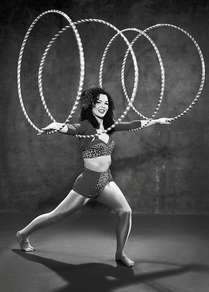 Lisa Sampson Hoola Hoop Act Sussex