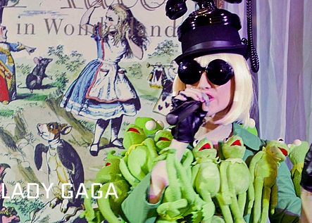 Lois Page as Lady Gaga Staffordshire