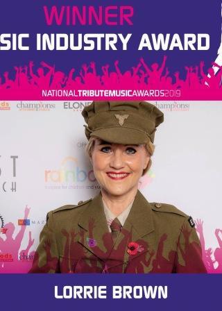 National Music Tribute Award Winner 2019 Lorrie Brown as Vera Lynn