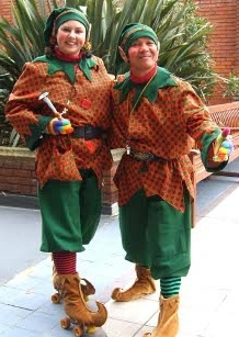 MarJin Entertainment as Christmas Elves