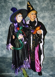 MarJin Entertainment as Witch & Wizard suitable for Halloween