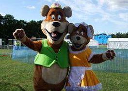 Macsot Characters Mr & Mrs Bear