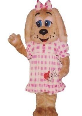 Mascot Characters Dog Female