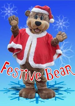 Christmas Characters Festive bear