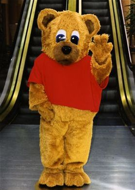 Mascot Characters Bear