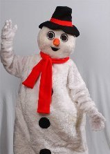 Walkabout snowman - Staffordshire - Mark Bant
