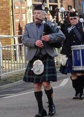 Mark Jamieson Piper Scottish Piper North Yorkshire