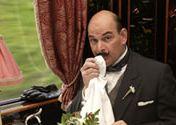 Martin Gaisford as Hercule Poirot lookalike