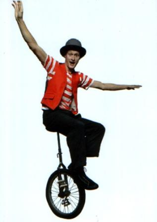 unicyclists for hire