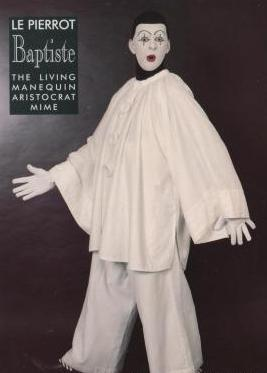 Michael Blackledge Mime artist as Le Pierrot from East Sussex
