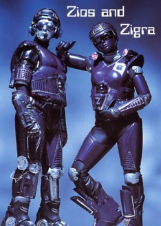 Robotics by Zios & Ziagra by Michael Blackledge Sussex