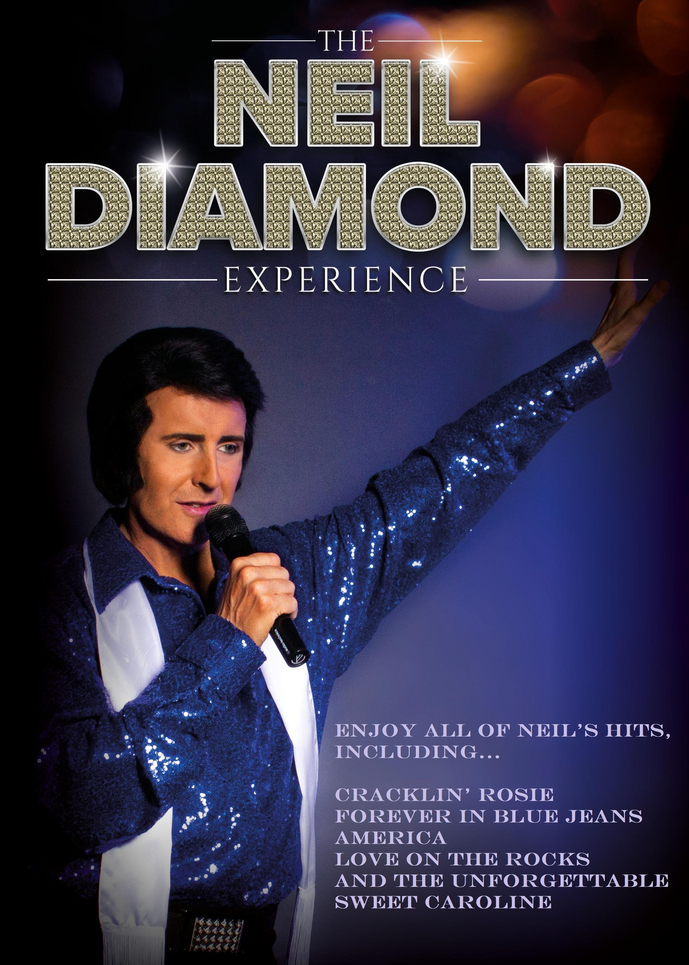 Mike Memphis as Neil Diamond Tribute Northumberland