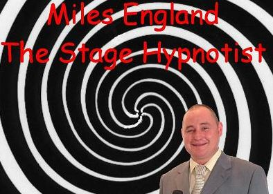 Miles England, Comedy, Stage Hypnotist, North Yorkshire