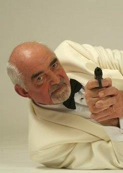 James Bond loo alike Moss Martin Leicestershire