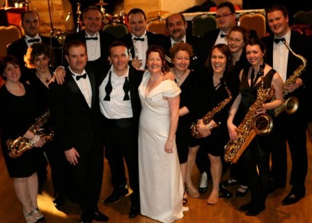 Mr Swings Dance Orchestra 13pce Big Band Yorkshire