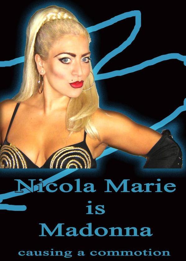 Nicola Marie Madonna Tribute Derbyshire