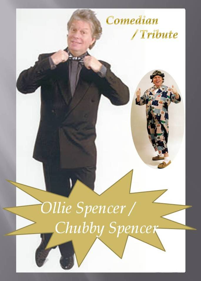 Ollie Spencer as Chubby Brown Comedian
