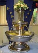 Champagne Fountains for weddings etc