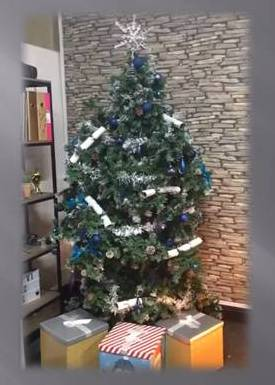 Living and Talking Christmas Tree by Pastiche Cheshire