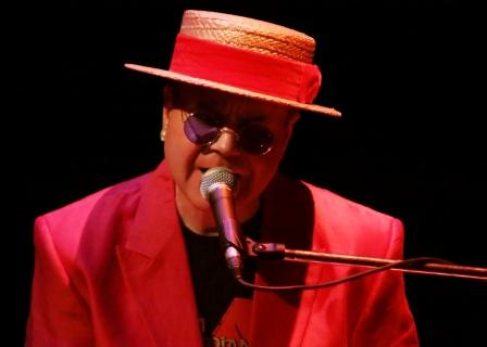 Paul Bacon as the Ultimate Elton John from Berkshire