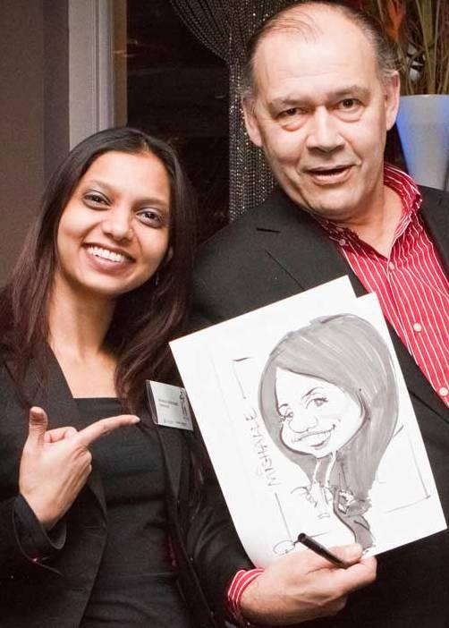 Paul Raymonde Caricaturist from London