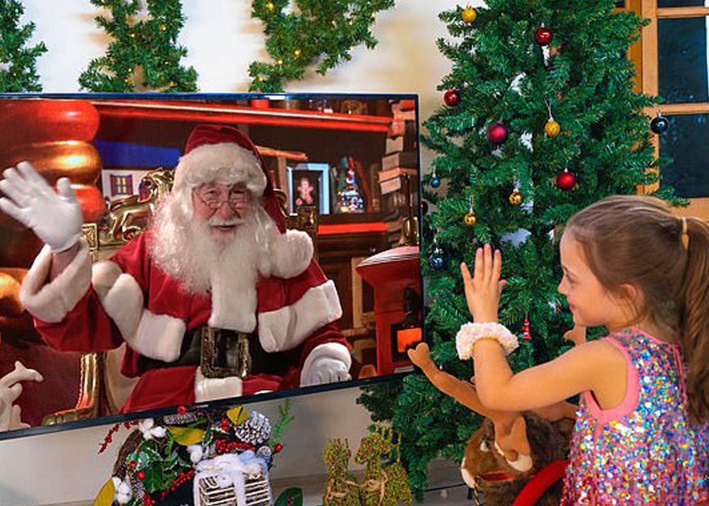 Book your Virtual Santa today!