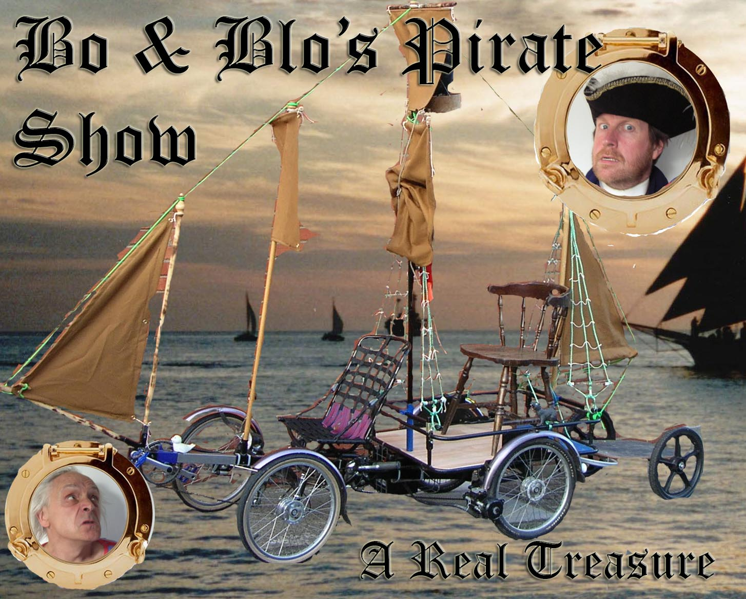 Bo the Clown Bo & Blo's Pirate Show available for Gala's, Festivals nationwide