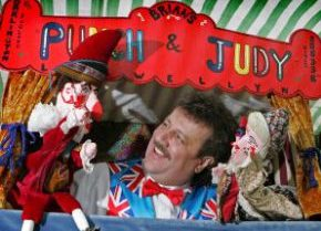 Professor Brian Llewellyn Punch & Judy Shows Co Durham