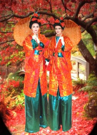 Geisha's on Stilts based in South Yorkshire and available through A.R.C. Entertainments