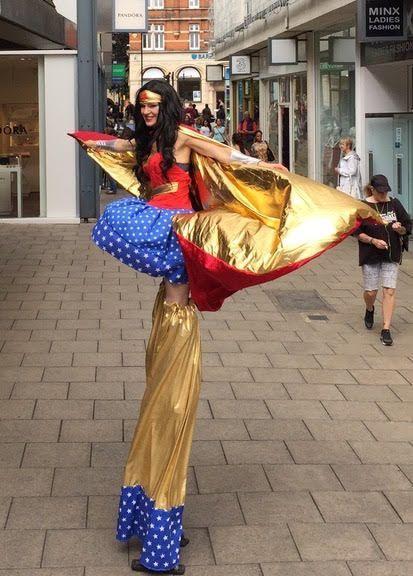 Wonder Woman by Rachel Hyde South Yorkshire