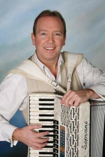 male vocalist accordionist Robert Burton