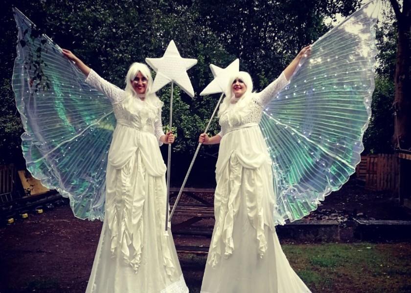 Christmas Fairy, Fairies